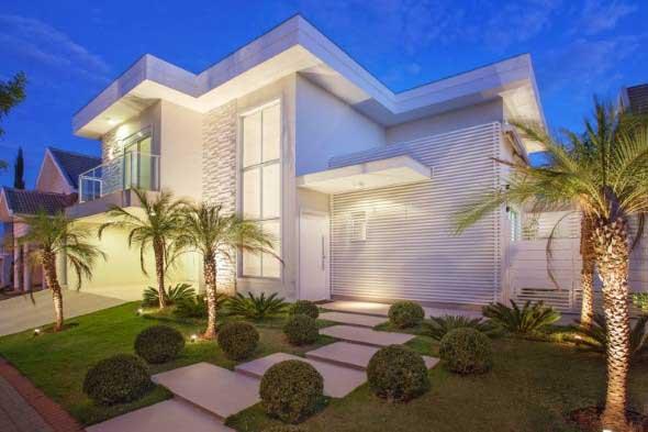 Ideias para renovar a fachada da casa rapidamente 011