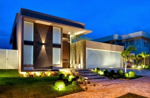 Ideias para renovar a fachada da casa rapidamente 012