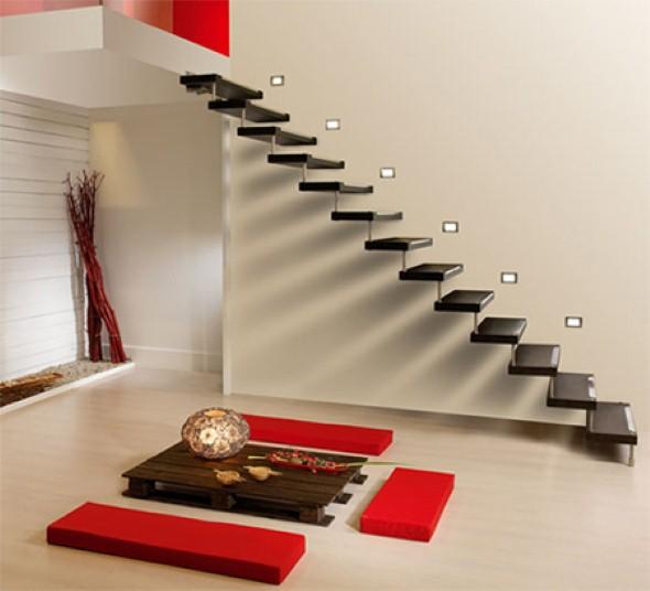 Modelos de escadas diferentes 001