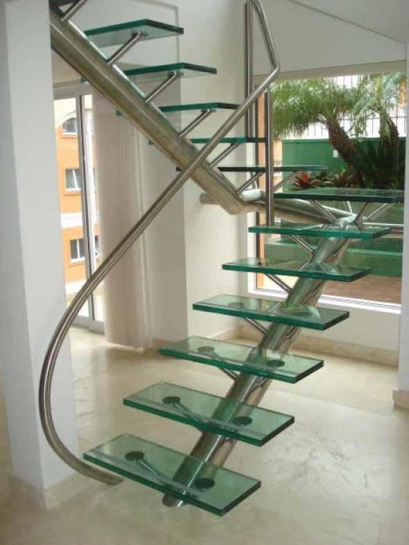 Modelos de escadas diferentes 002
