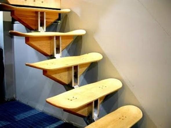 Modelos de escadas diferentes 012