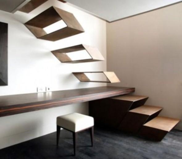 Modelos de escadas diferentes 014