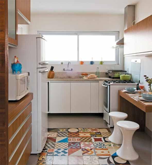Piso para cozinha 018