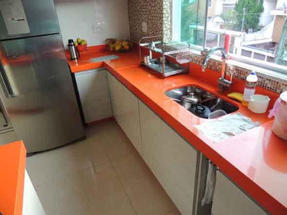 Bancadas em quartzo para cozinha 014
