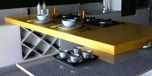 Bancadas em quartzo para cozinha 015