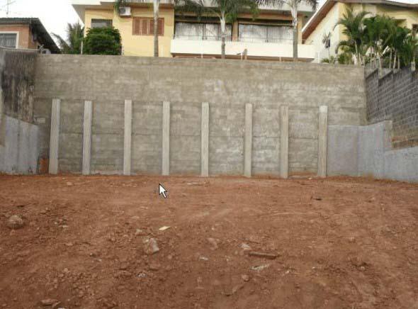 17 modelos de muros de arrimo para diversos tipos de terreno for Muro de concreto armado