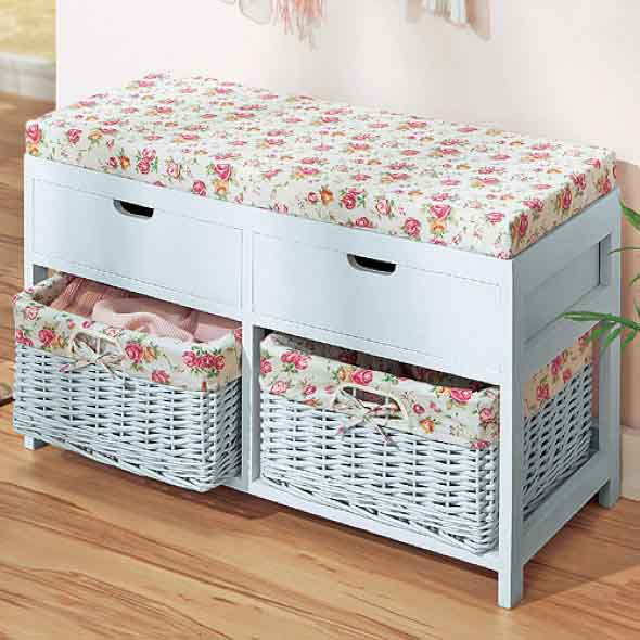 21 formas usar cestos de vime na decoração e organização da casa -> Decoracao Banheiro Cestos