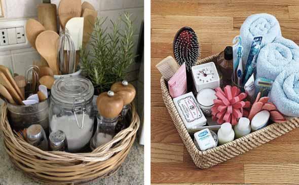 Como usar cestos de vime na decoração 016