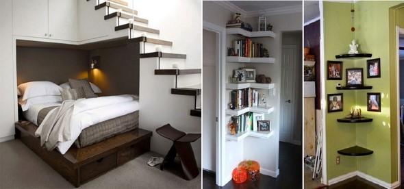 Ideias para decorar os cantos vazios pela casa 001