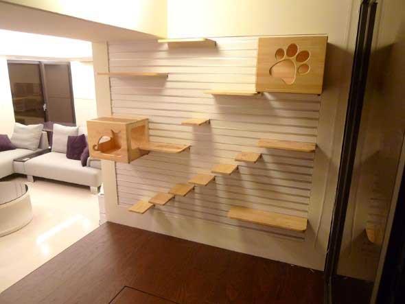 Móveis criativos para quem tem gatos 002