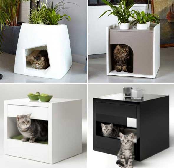 26 modelos de m veis criativos para quem tem gatos - Casas para gatos baratas ...