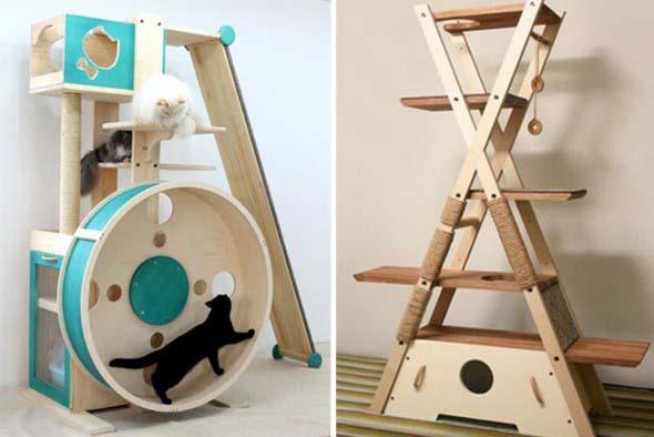 Móveis criativos para quem tem gatos 009