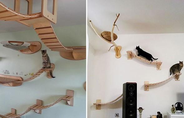 Móveis criativos para quem tem gatos 016