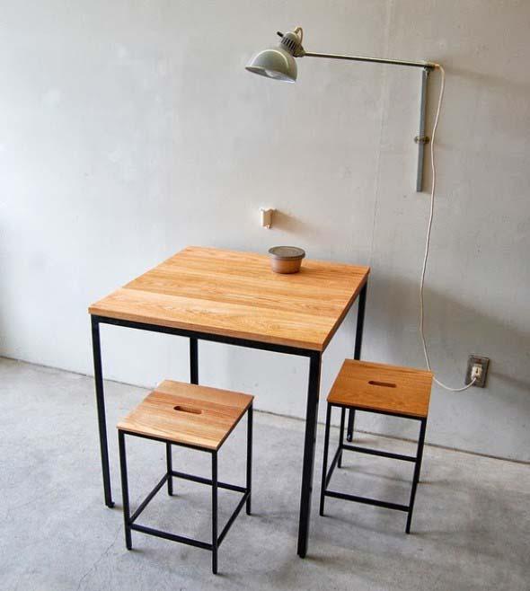 Mesas pequenas para espaços pequenos 016