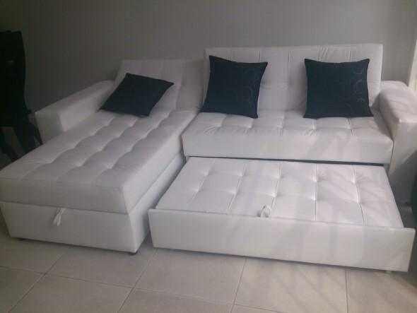5 vantagens de um sof cama em casa for Sofa cama dos camas