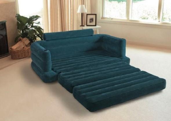 Sofá cama em casa 009