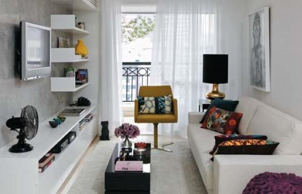 Truques para decorar um apartamento pequeno 001