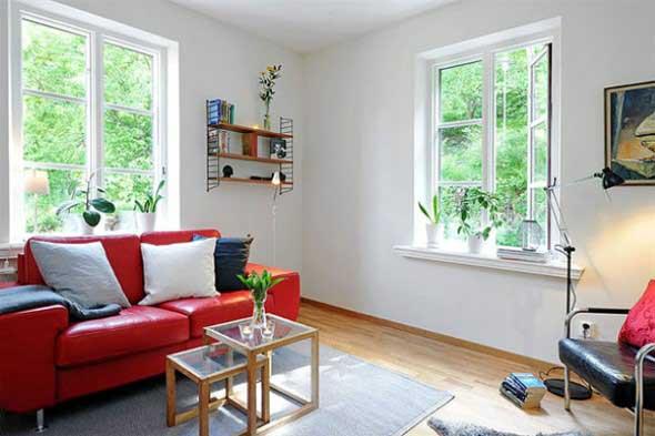 Truques para decorar um apartamento pequeno 006