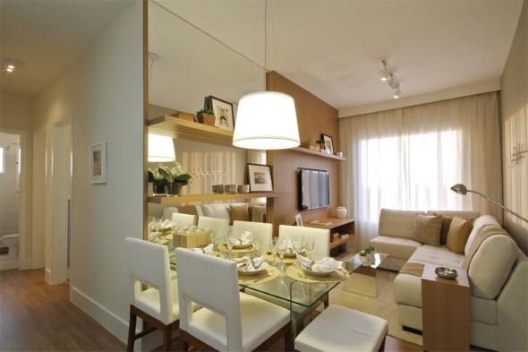 Truques para decorar um apartamento pequeno 008
