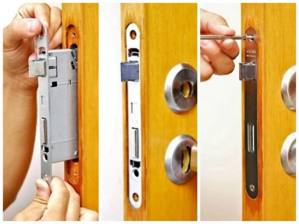 Aprenda a trocar a fechadura da porta 004