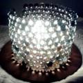 Como fazer uma luminária com bolas de gude 003