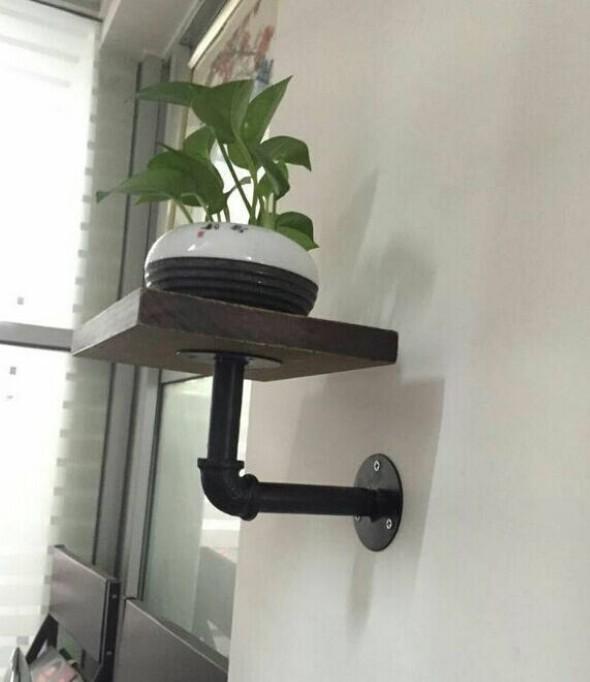 Como montar uma prateleira de madeira 015