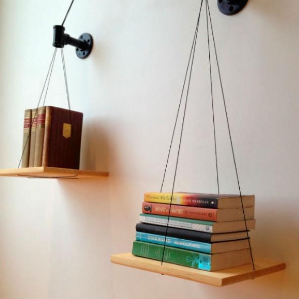 Como montar uma prateleira de madeira 016