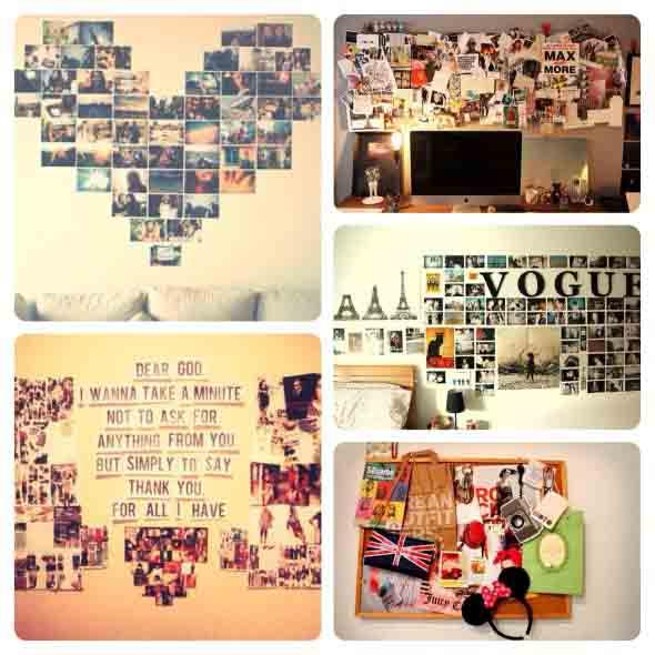 Decore seu quarto com fotos e revistas variadas 003