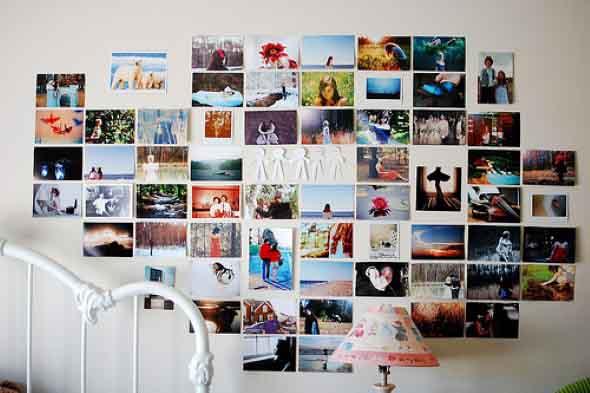 Decore seu quarto com fotos e revistas variadas 004