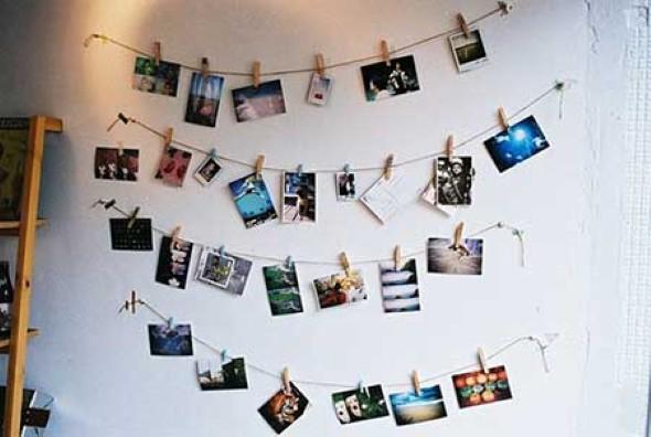 Decore seu quarto com fotos e revistas variadas 009