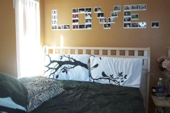 Decore seu quarto com fotos e revistas variadas 010