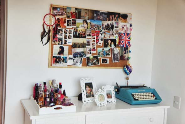 Decore seu quarto com fotos e revistas variadas 015