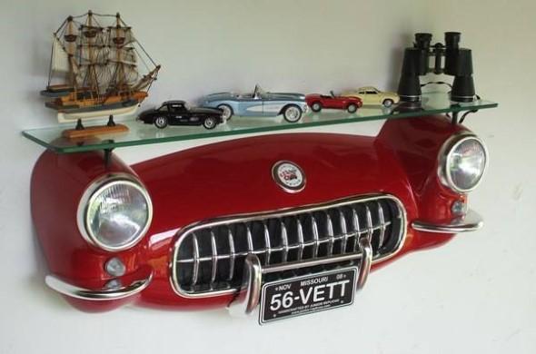 Design retrô com carros antigos na decoração 007