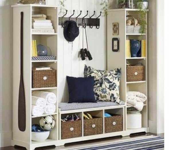 Formas criativas para aumentar o espaço dos armários 010