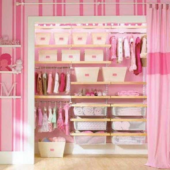Formas criativas para aumentar o espaço dos armários 011