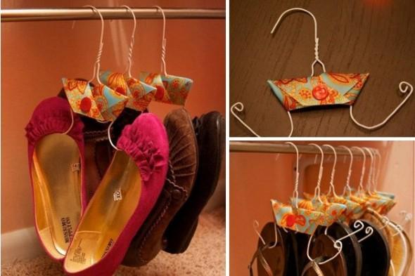 Formas criativas para aumentar o espaço dos armários 012