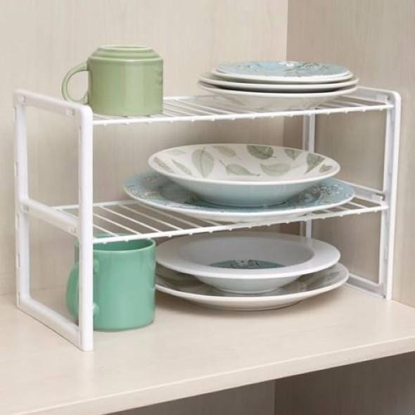 Formas criativas para organizar e aumentar o espa o dos - Organizador de armarios ...