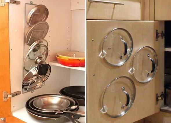 Formas criativas para aumentar o espaço dos armários 017