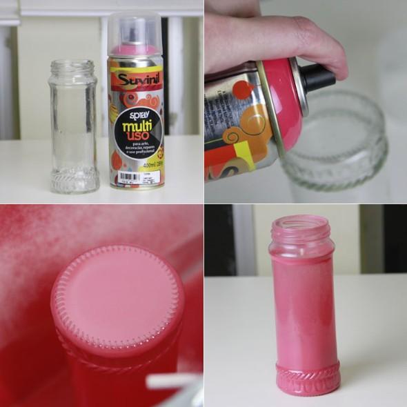 Ideias artesanais de pintura em spray 003