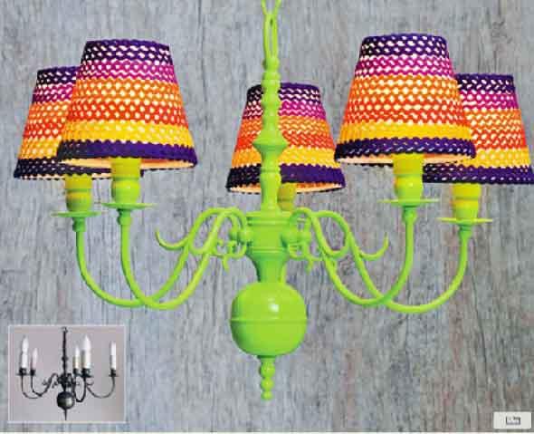 Ideias artesanais de pintura em spray 010