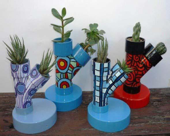 Ideias artesanais de pintura em spray 016