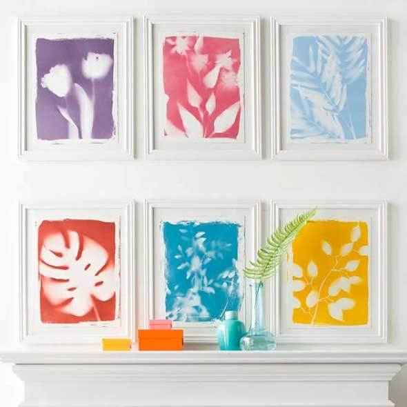 Ideias artesanais de pintura em spray 019