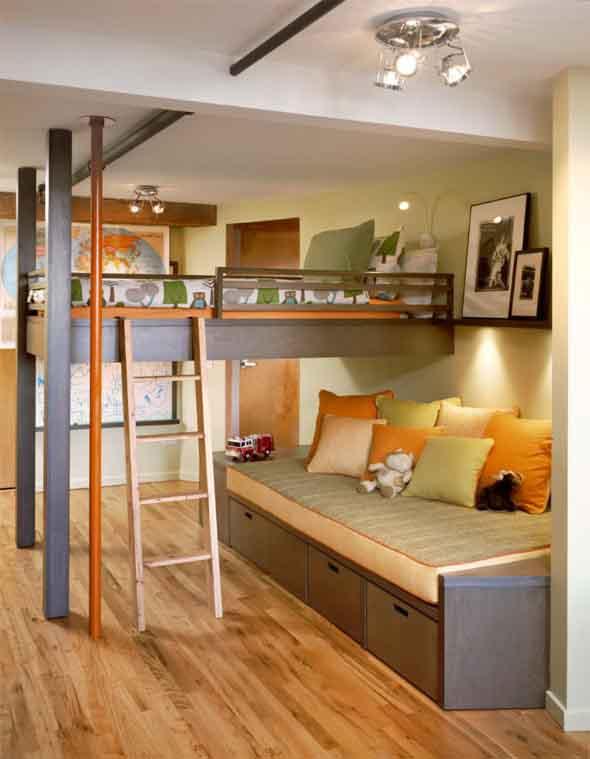 Quarto suspenso – Mais espaço em seu lar 011