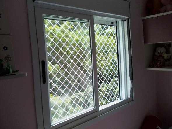 Rede de proteção para janelas 001