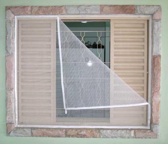 Muito Aprenda a instalar em casa tela de mosquiteiro QM82