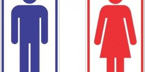 15 Modelos de Placas de banheiro engraçadas e criativas 016