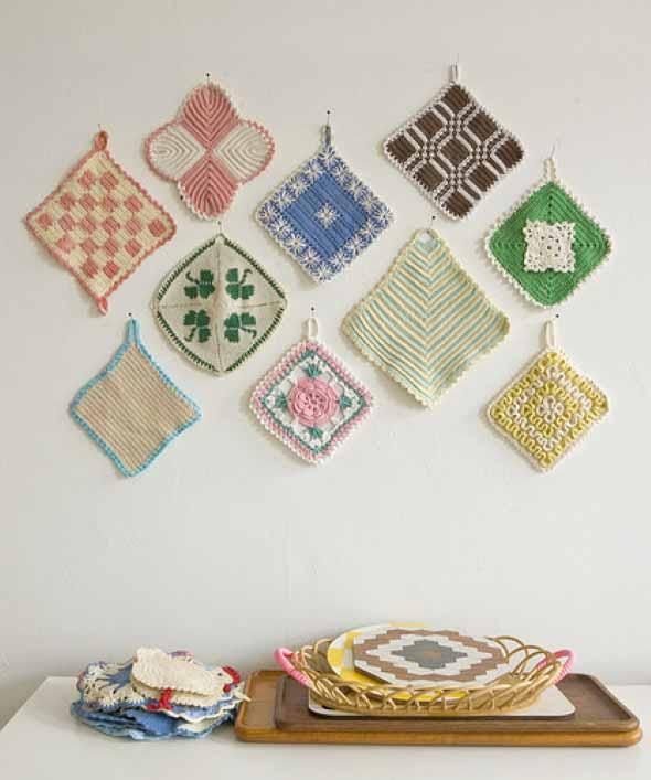 Decoração com tapeçarias nas paredes 017