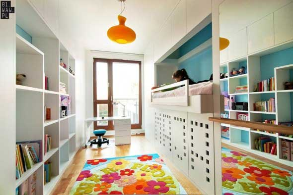 Decoração criativa no quarto das crianças 001