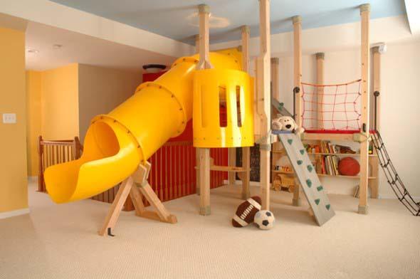 Decoração criativa no quarto das crianças 005