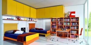 Decoração criativa no quarto das crianças 013